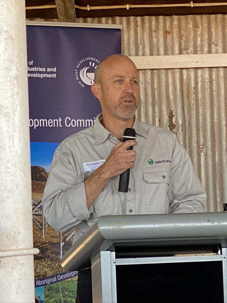 Dean Revell at Southern Rangelands Roundtable