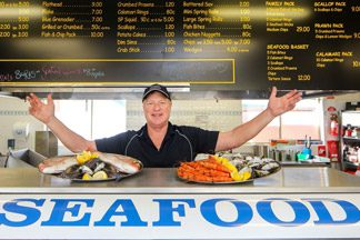 Borella Seafood Fresh Australian Seafood from Melbourne Tuesdays & Thursdays
