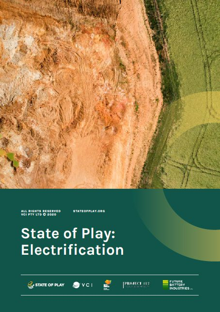 State of Play Mine Electrification